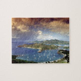 Caribbean, Antigua. Jigsaw Puzzle