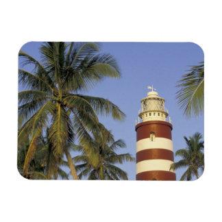 Caribbean, Bahamas, Abaco, Elbow Cay. Hopetown Rectangular Photo Magnet