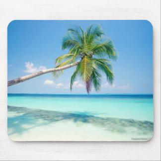 caribbean beach mouse pad