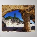 Caribbean, Bermuda, Tucker's Town. Natural Poster