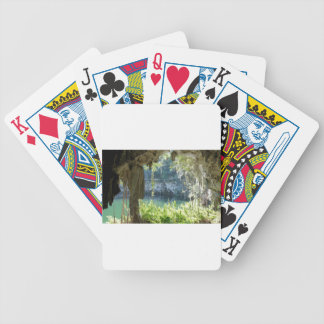 caribbean cave bicycle playing cards