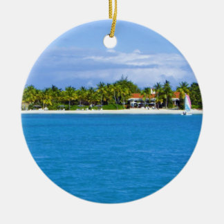 Caribbean Christmas Ornament