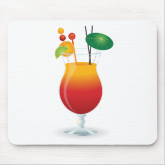 Caribbean Cocktail Mouse Pad