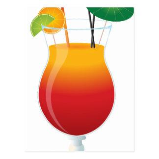 Caribbean Cocktail Postcard