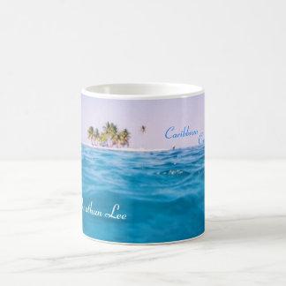 Caribbean Cruising Name Mug