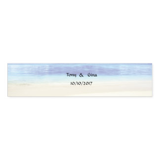 Caribbean Destination Wedding Napkin Bands