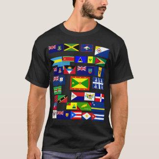 Caribbean Flag Tee SHirt