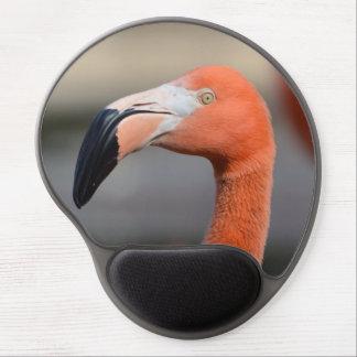 Caribbean Flamingo Gel Mousepads