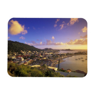 Caribbean French West Indies St Martin Flexible Magnets