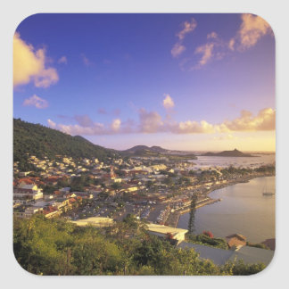 Caribbean, French West Indies, St. Martin. Stickers
