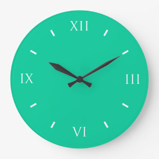 Caribbean Green Durable Color Coordinating Clock