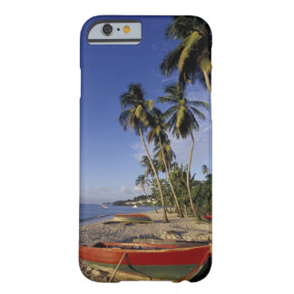 CARIBBEAN, Grenada, St. George, Boats on palm Barely There iPhone 6 Case