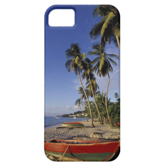 CARIBBEAN, Grenada, St. George, Boats on palm iPhone 5 Cases
