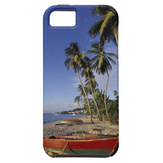 CARIBBEAN, Grenada, St. George, Boats on palm Tough iPhone 5 Case