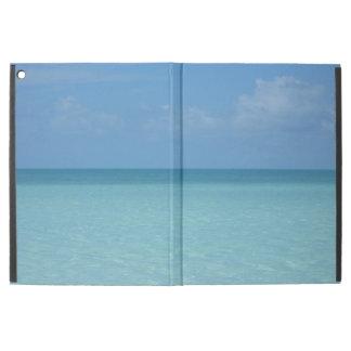 "Caribbean Horizon Tropical Turquoise Blue iPad Pro 12.9"" Case"