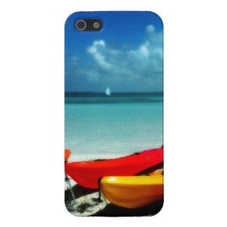 Caribbean Kayak Savvy Phone Case iPhone 5 Covers