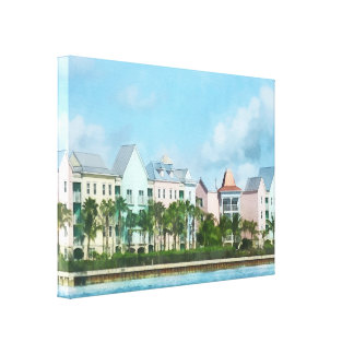 Caribbean - Leaving Paradise Island Gallery Wrap Canvas