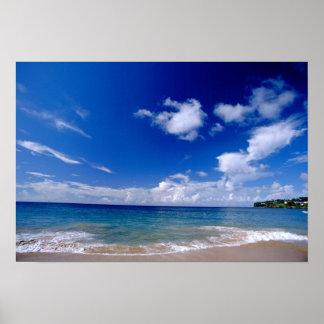 Caribbean, Lesser Antilles, West Indies, Poster