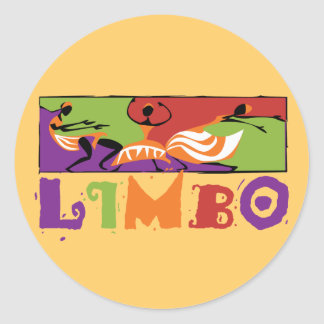 Caribbean Limbo Dance Stickers