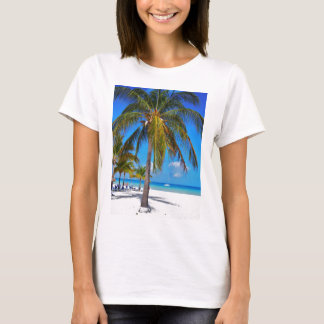 Caribbean palm tree T-Shirt