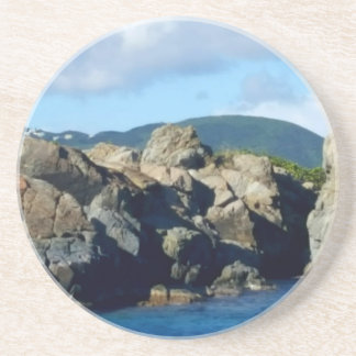 Caribbean Rocky Barrier St. Thomas Landscape Coaster