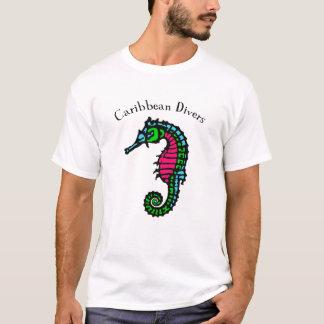 Caribbean Seahorse Dive t-shirt