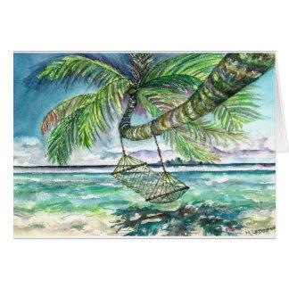 Caribbean Solitude Card