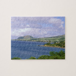 Caribbean, St. Kitts, Roseau. Coast. Puzzles