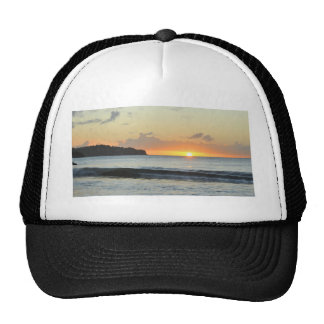 Caribbean sunset cap