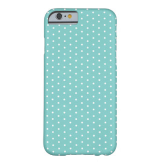 Caribbean Teal Polka Dot iPhone 6 Barely There iPhone 6 Case