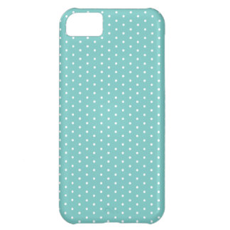 Caribbean Teal Polka Dot iPhone Case For iPhone 5C