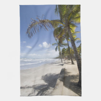Caribbean - Trinidad - Manzanilla Beach on Tea Towel