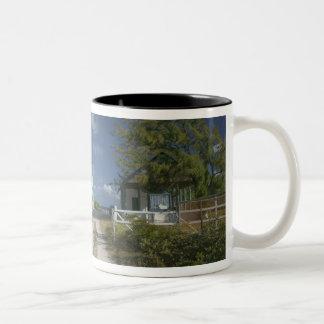 Caribbean, TURKS & CAICOS, Grand Turk Island, 3 Two-Tone Coffee Mug