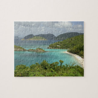 Caribbean, U.S. Virgin Islands, St. John, Trunk Jigsaw Puzzle