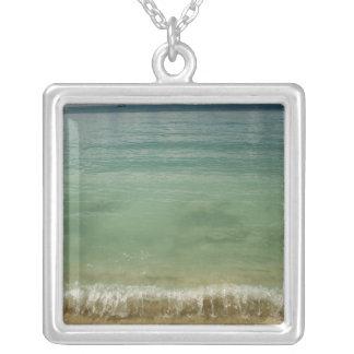 Caribbean, U.S. Virgin Islands, St.Thomas, 4 Square Pendant Necklace