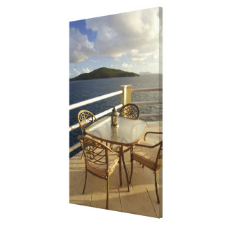 Caribbean, U.S. Virgin Islands, St. Thomas. View Gallery Wrap Canvas