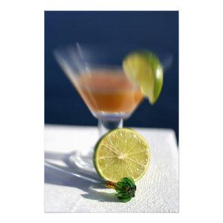 Caribbean, Virgin Islands. Tropical rum punch, Photo Art