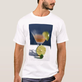 Caribbean, Virgin Islands. Tropical rum punch, T-Shirt