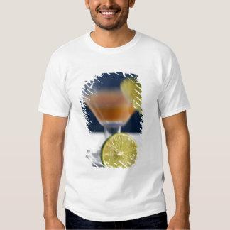 Caribbean, Virgin Islands. Tropical rum punch, Tshirts