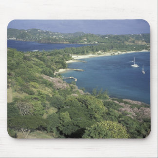 Caribbean, West Indies, St. Lucia. View of Mouse Pad