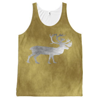 Caribou All-Over Print Tank Top