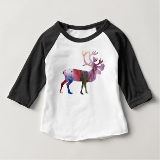 Caribou art baby T-Shirt