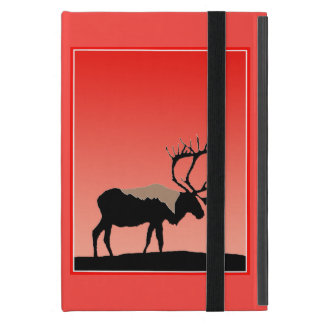 Caribou at Sunset iPad Mini Case