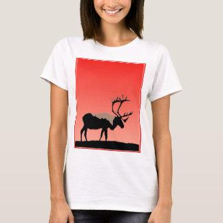 Caribou at Sunset T-Shirt