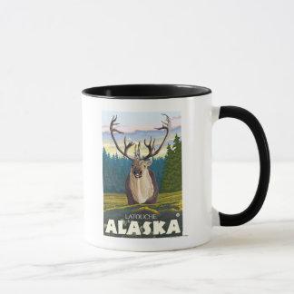 Caribou in the Wild - Latouche, Alaska