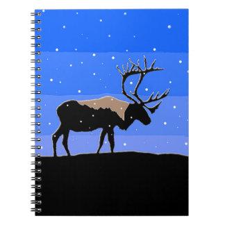 Caribou in Winter Notebook