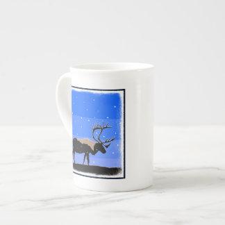 Caribou in Winter Tea Cup