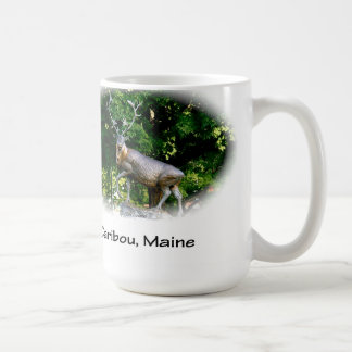 Caribou, Maine - Bronze Caribou Coffee Mug
