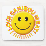 Caribou Meat Smile Mouse Mat