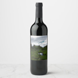 Caribou Plains Bridge Wine Label